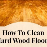 clean hard wood floors