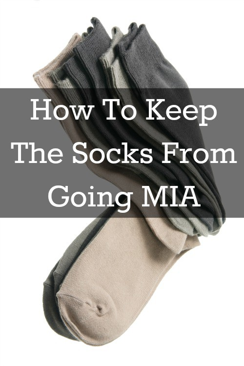 how to stop losing socks in the wash