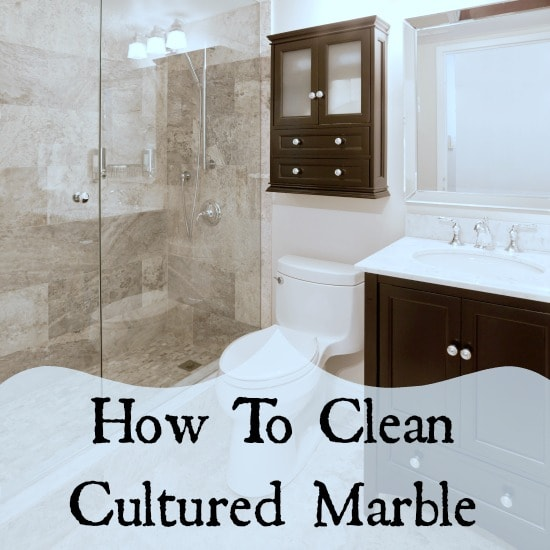 Cultured Marble What To Clean It With Home Ec 101