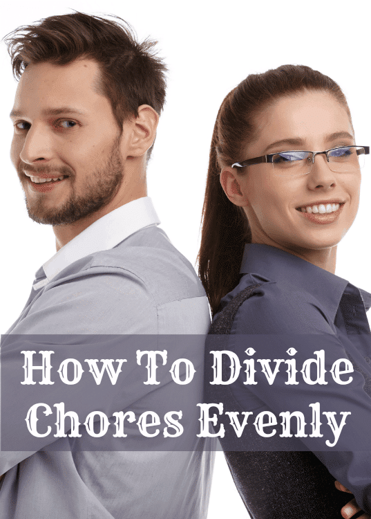 how to divide chores evenly