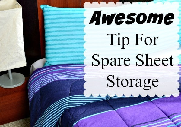 Where To Store Sheets