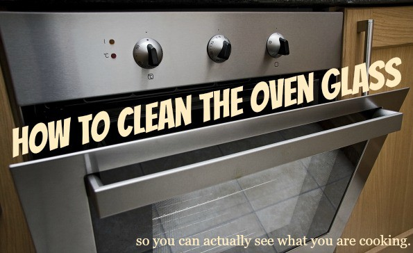 Greasy Grimy Oven Glass