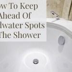 clean hardwater spots