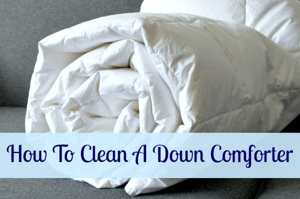 How To Clean A Down Comforter Home Ec 101