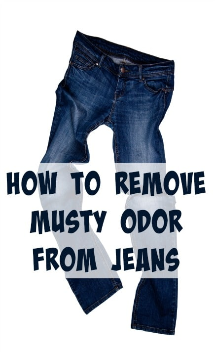 How To Get Mold Smell Out Of Clothes >> How To Remove Musty Odor From Jeans Home Ec 101