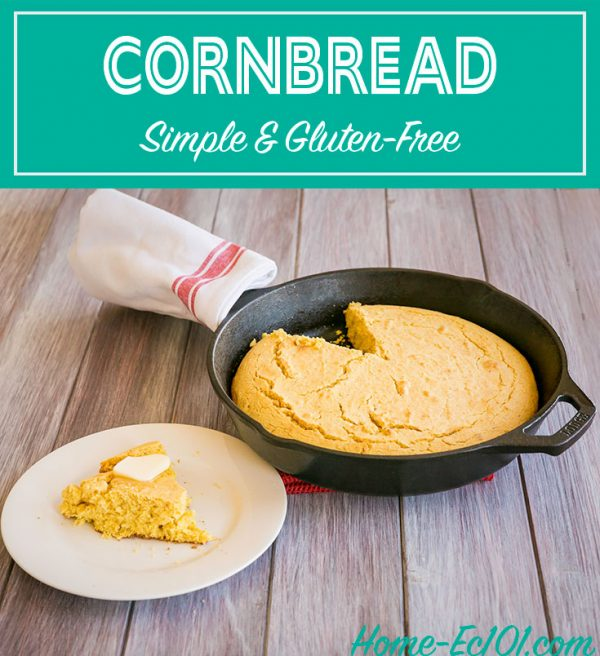 This easy recipe for cornbread from scratch is perfect to use in casseroles and dressings. It also makes a great side dish for any Southern meal