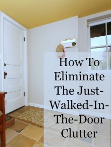 eliminate clutter inside door