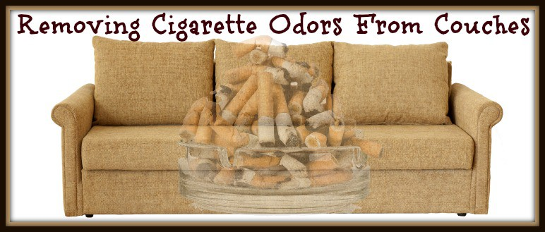 Removing Cigarette Smoke Odor From Couches Home Ec 101