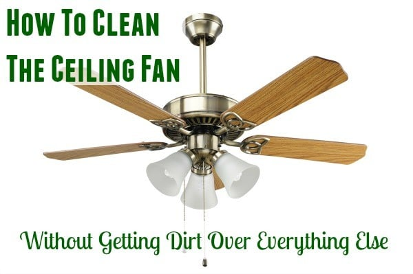 Ceiling fan cleaning 101 home ec 101 ceiling fan cleaning 101 aloadofball Gallery