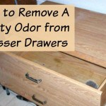remove musty odor from dresser
