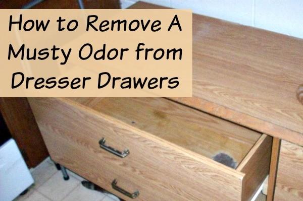 Etonnant Remove Musty Odor From Dresser