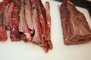 Sliced Round Steak