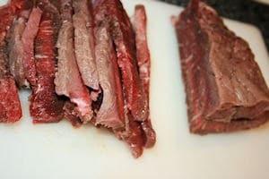 Sliced Round Steak