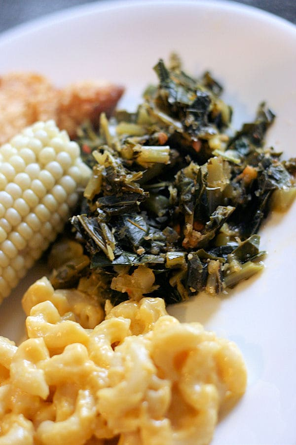 vegetarian collards