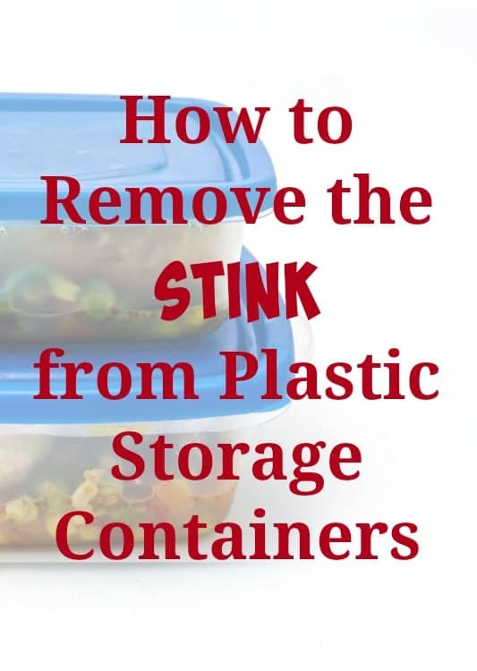 stinky food containers