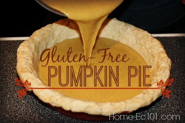 Gluten-Free Pumpkin Pie for Everyone