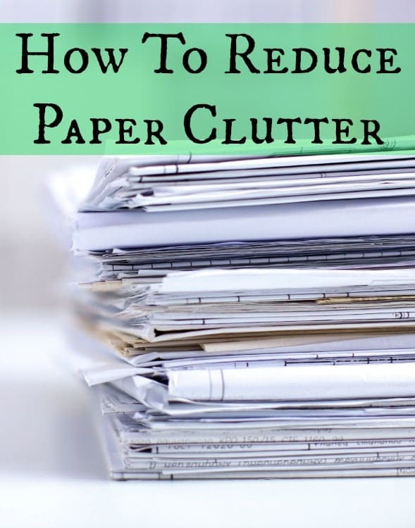 how to reduce paper clutter how to reduce clutter to reduce stress hgtv