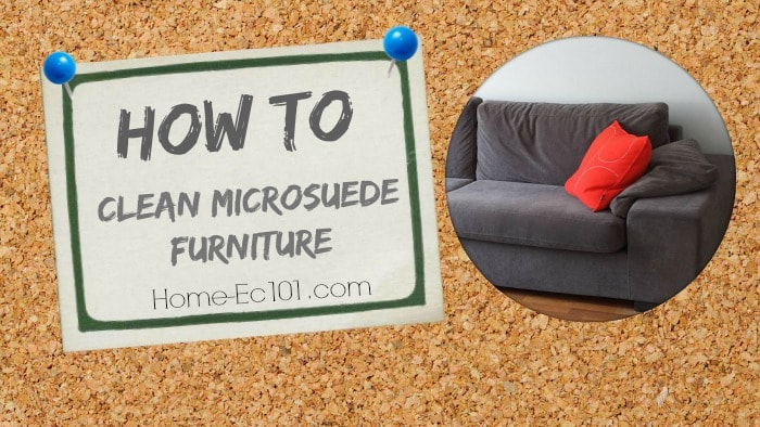 . How to Clean Microsuede Furniture   Home Ec 101