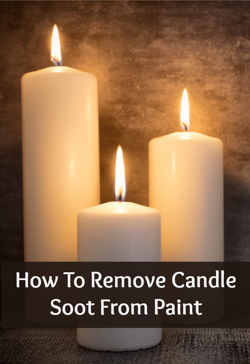 removing candle soot from the wall home ec 101. Black Bedroom Furniture Sets. Home Design Ideas