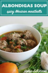 My family's version of the spicy Mexican meatball soup often called Albondigas is a meal often requested from me.