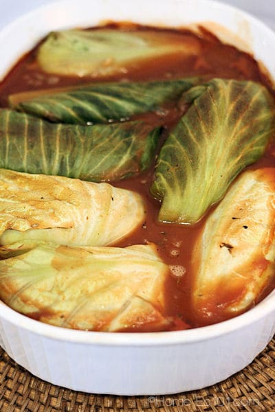 Vegetarian Cabbage Rolls Recipe — Dishmaps