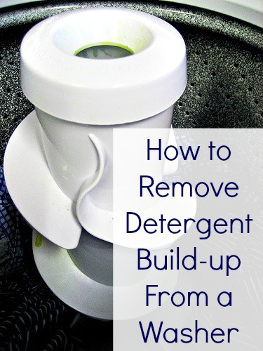 How To Remove Detergent Build Up In A Washing Machine
