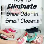 how to eliminate shoe odor