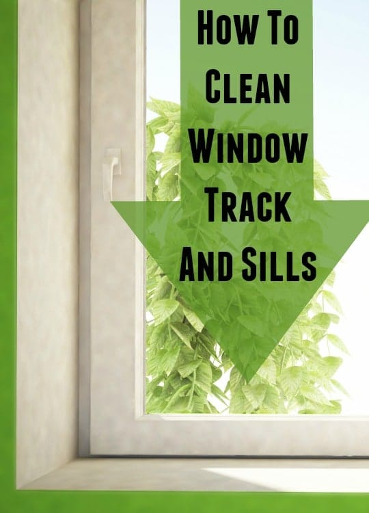 How To Clean Window Tracks And Sills