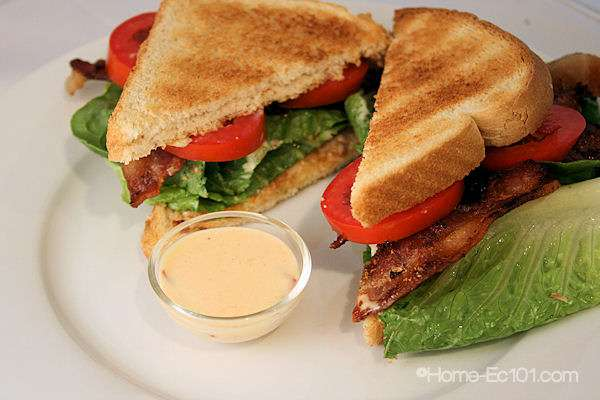 Chipotle Mayonnaise BLT