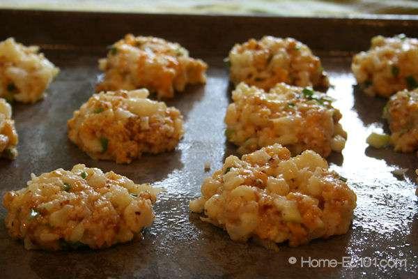 Cheddar Cauliflower Bites
