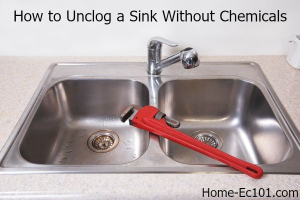 Unclog Your Kitchen Sink Without Chemicals