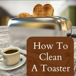 clean the toaster