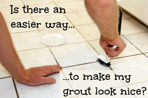 What Can You Do To Fix Stained Grout Home Ec - Cleaning stained floor tiles