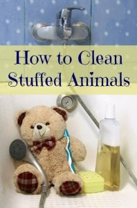 How to Clean Stuffed Animals