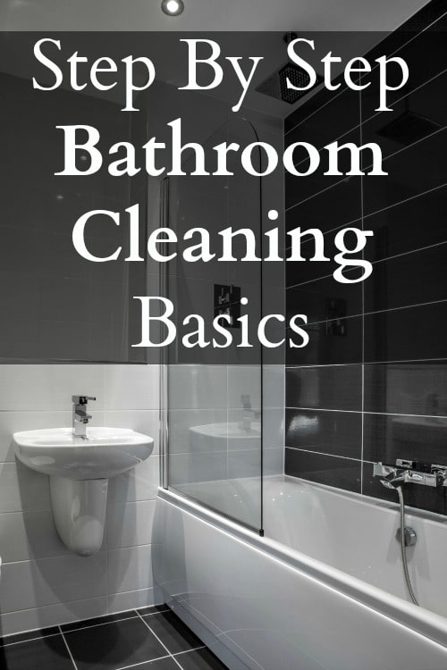 how to clean a bathroom