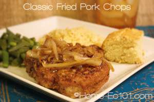 Pork Chops, Fried