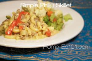Philly Skillet with Bell Peppers and Onions