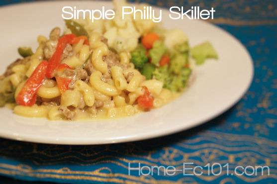 Simple Philly Skillet