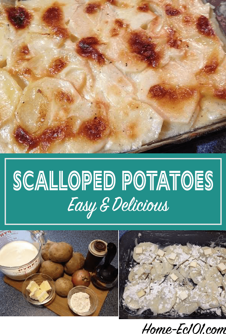 how to cook scalloped potatoes from scratch