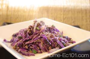 Thai Inspired Beef Cabbage Skillet Recipe