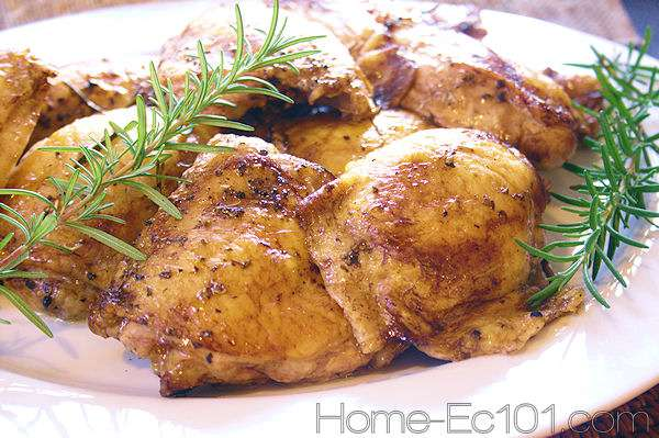 Balsamic Marinated Chicken Thighs
