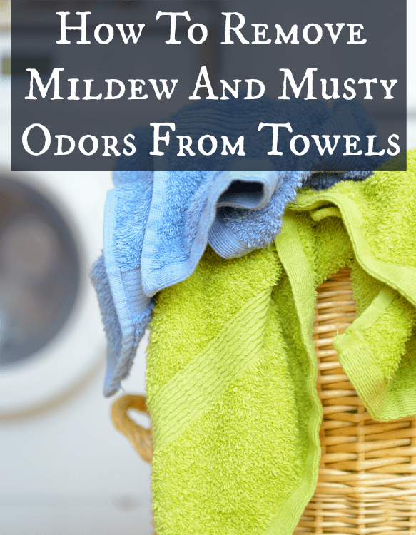 how to remove mildew and musty odor from towels. Black Bedroom Furniture Sets. Home Design Ideas