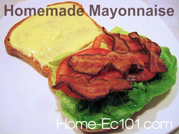 How to make homemade mayonnaise. This recipe for homemade mayonnaise requires no tools other than a bowl, a whisk, and your hands.