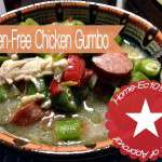 Easily Make Gluten-FrAee Chicken Gumbo