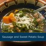 Hearty Sausage, Kale, and Sweet Potato Soup