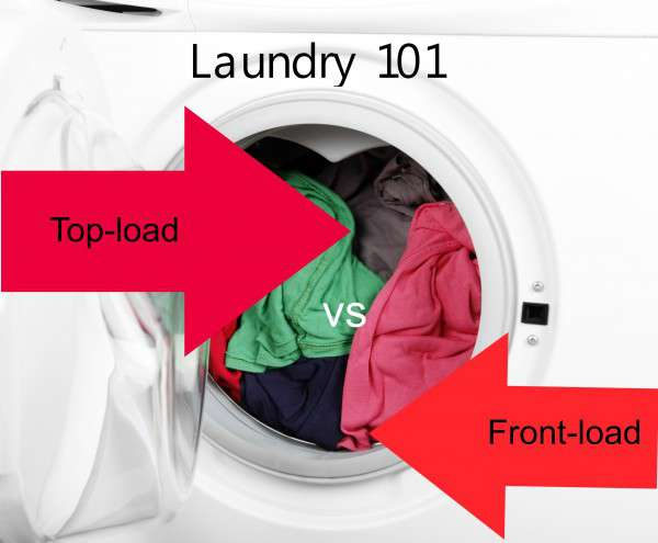 top load or front load washing machine