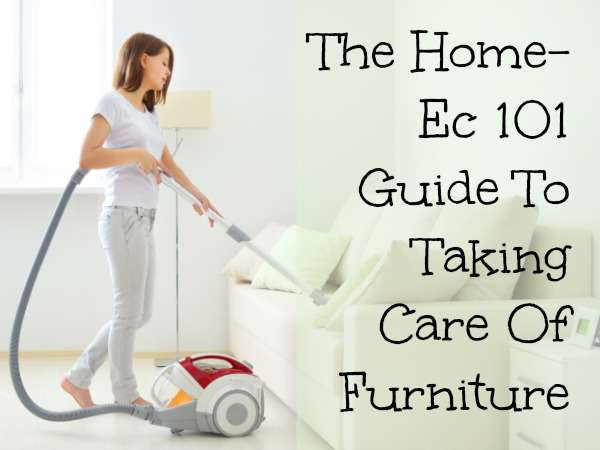 furniture care guide