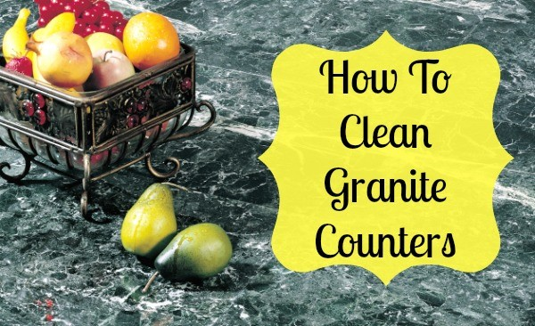 how to clean granite counter tops. Black Bedroom Furniture Sets. Home Design Ideas