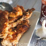 Honey Sriracha Riblets, spicy, bold and sweet. Perfect for tailgating or hanging out at home.