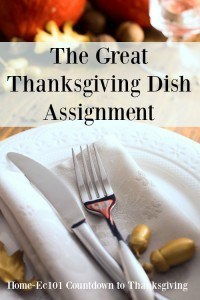 The Great Dish Assignment and Do you Know Where People Will Sit?